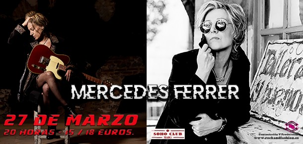 teatro soho club madrid - mercedes ferrer