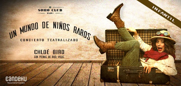 teatro soho club madrid - teatro soho club madrid - un mundo de niños raros